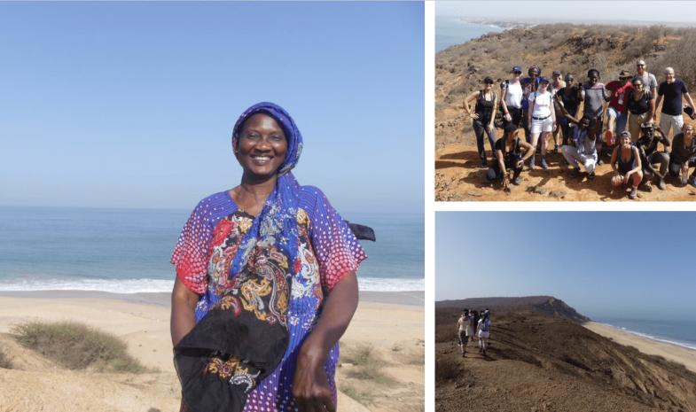 Montage photos littoral sénégalais
