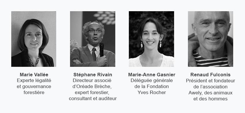 Marie Vallée, Stéphane Rivain, Marie-Anne Gasnier et Renaud Fulconis