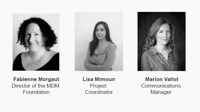 Fabienne Morgaut, Lisa Mimoun and Marion Vallot
